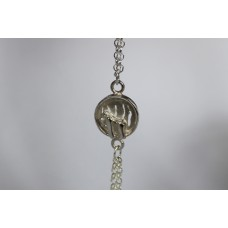 Recycled sterling silver Bracelet - Gorilla