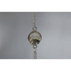 Recycled sterling silver Bracelet- Elephant